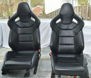 Oem Audi Rs4 B7 Recaro Seats Set Leather Winglets Rare Perforated B5 B6 S4 R8