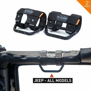 Gpca Gp Grip Lite Universal Handles For Jeep Truck Utv Roll Bar Boat Pole Black