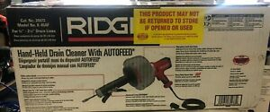 new Ridgid 35473 K 45af Sink Machine Cable Drain Cleaner
