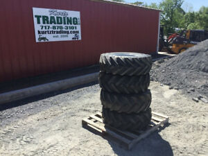 4 New Kubota R420s Wheel Loader Tires And Wheels