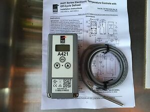 Johnson Control Electronic Thermostat With Off Cycle defrost A421abd 02