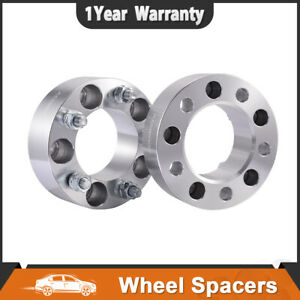 2pcs 2 5x4 75 Wheel Spacers Adapters For Chevy Camaro Corvette 12x1 5 Studs