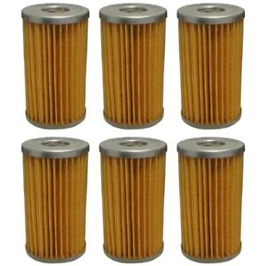 87300041 15521 43160 6 Fuel Filters For Ford 1900 2110 3040 3415 Kubota L275