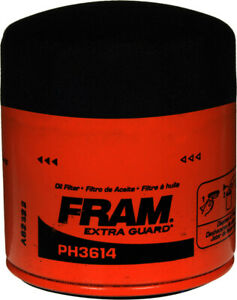 Fram Ph3614 Oil Filter Ford Fusion Escape Mustang Chevy Tracker More As Shown