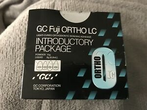 Fuji Ortho Lc Introductory Package Light Cure Orthodontic Bonding Adhesive