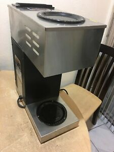 Bunn Commercial Coffee Maker Vpr Series Stainless 12 cup missing Coffee Tray