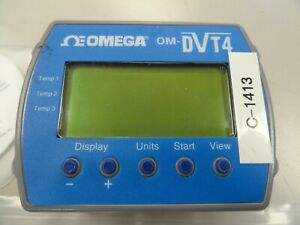 Omega Om dvt4 4 Channel Temperature Data Logger 421 472 0031