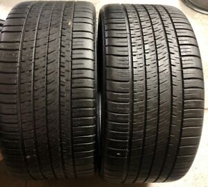 Two Matching Michelin Pilot Sport A s 3 Plus Zp P285 30zr20 285 30 20 7 32 18 9