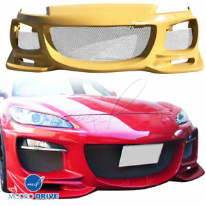 Frp Rmag Front Bumper For Mazda Rx 8 S3ep 09 11 Modelodrive