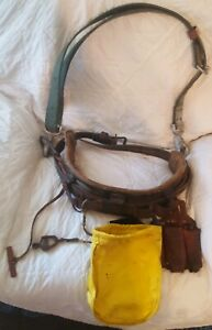 Klein buhrke 5282 Ns Utility Tool Belt Pole tree Climbing Safety Strap Linemen