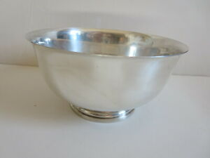 Preisner 228 Sterling Silver 8 Revere Bowl 424 Grams No Engraving