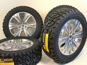 20 Ford F150 Expedition Set 4 04 20 Polished Oem Wheels Rims Tires Pac Factory