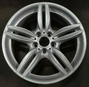 11 18 Bmw 5 6 M6 Activehybrid Oem Wheel Rim Front 71414 36117842652 351 19x8 5