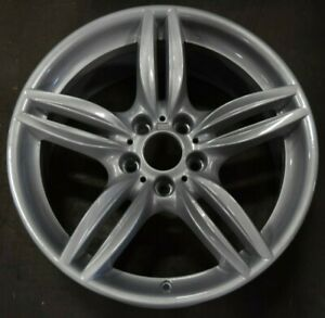 11 18 Bmw 5 6 M6 Activehybrid Oem Wheel Rim Rear 71418 36117842653 351 19x9