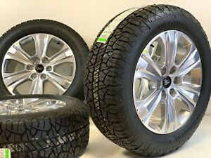 20 Ford F150 Expedition Set Of 4 04 19 Polished Factory Oem Wheels Rims Tires