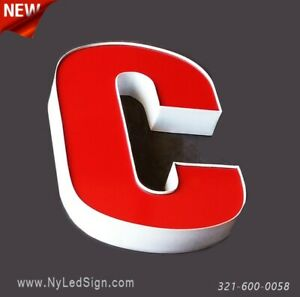 New Led Channel Letters Business Sign 20 Custom Made