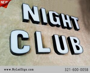 New Led Channel Letters Business Sign 18 Custom Made