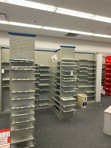 Complete Pharmacy Of Shelving For Sale