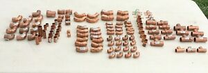 Copper Plumbing Fittings Mixed Lot 118 Pieces See Pics For More Detail