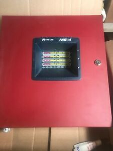 Fire Lite Ms4 Commercial Fire Panel 100 Functional