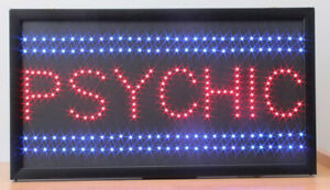 Psychic Led Sign Super Bright High Quality Led Store Sign Large 24 x13 x1