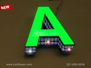 New Led Channel Letters Sign Front Lit And Side Lit 12 Custom Made