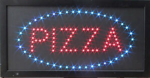 Pizza Store Led Sign Super Bright High Quality Led Store Sign Large Pizza Sign