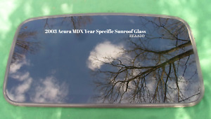 2003 Acura Mdx Oem Year Specific Sunroof Glass No Accident Free Shipping