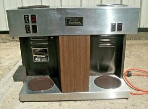 Bunn Commercial Pour Over Coffee Maker Warmers Model Vps Watts 1790