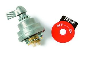 Taylor Cable 1033 4 post Switch Battery Cut off Switch