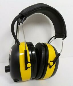 3m Worktunes Hearing Protector Mp3 Compatible With Am fm Tuner