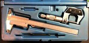 Central Tools Micrometer And Caliber Set