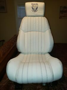 99 30th Anniversary Trans Am White Seats With New Leather Covers