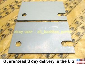 Jcb Loadall Genuine Jcb Wear Pad Shim 3mm 150x90 2 Pcs part No 158 30576