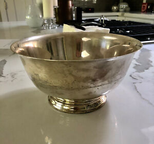 Gorham Sterling Silver Bowl 4660 Paul Revere Reproduction 1 678 Lbs