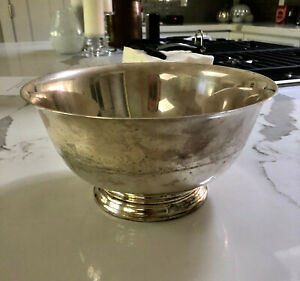 Gorham 9 Sterling Silver Bowl Paul Revere Reproduction 761 Grams