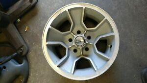 Oem 15x7 Monte Carlo Ss Wheel Light Silver Textured With Machined Face Set Used