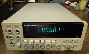 Fluke Model 8840a af True Rms And Gpib Options Included