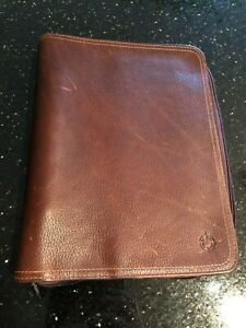 Franklin Planner Leather Binder Classic Size