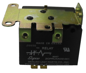 Supco 9067 Potential Relay 420 Continuous Coil Voltage