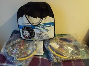 Laclede Alpine Super Sport 2524 Suv Truck Lt 15 16 17 17 5 Tire Snow Chains New