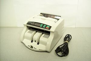 Accubanker Ab 1000 Bill Counter Money Counting Machine No Catch Plate Tested