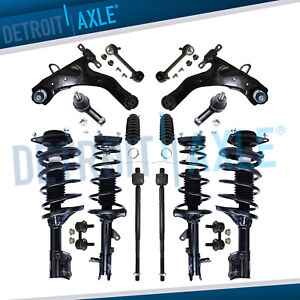 For 2001 2005 2006 Hyundai Elantra 16pc Front Struts Rear Shocks Suspension Kit