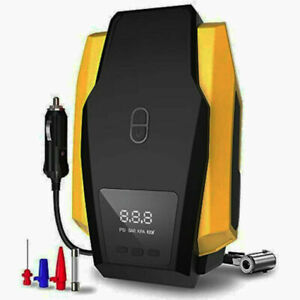 Air Compressor Tire Inflator Dc 12v Portable For Car Tires 150 Psi Pump With