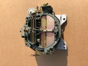 Survivor Rebuilt 7028207 Rochester Quadrajet 1968 Corvette 327 300 Carburetor