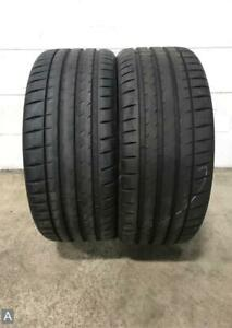2x Take Offs P235 35r20 Michelin Pilot Sport 4s To 8 32 Used Tires