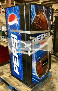 Dixie narco Refrigerated Beverage Vending Machine Dn501e Cold Drink Soda Pepsi