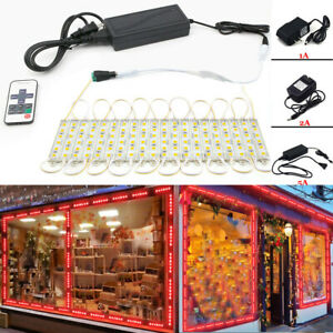 Us 10ft 160ft 5054 Smd 6 Led Module Lights Fairy Strip Red Lamp Remote Power
