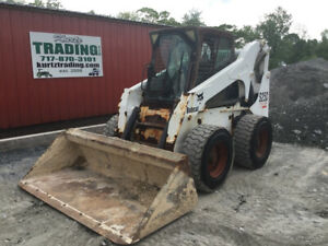 2004 Bobcat S250 Skid Steer Loader W Cab Only 2500hrs Coming Soon