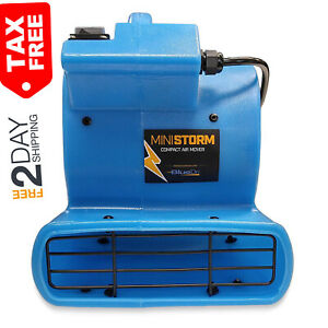 Mini Storm 1 12 Hp Air Mover Carpet Dryer Floor Squirrel Cage Blower Fan